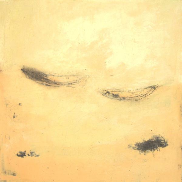 Rosa Kanus (2008), Mischtechnik auf Hartfaser, 50x50 cm, Privatsammlung