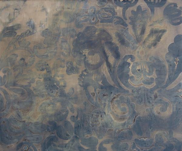 Riders on the storm (2010), Mischtechnik auf Hartfaser, 100x100 cm